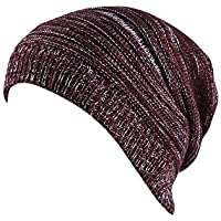 RONDAA Sombrero de Tejer para Hombre y Mujer Mantener Caliente para Invierno  y otoño f2020caf159