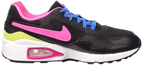 Nike Air Max St (gs) Scarpe Sportif, Ragazza Noir / Rose Pow-blanc-pht Bleu