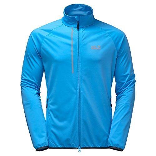 Jack Wolfskin Veste softshell Cusco Trail Jacket Homme Ocean Blue