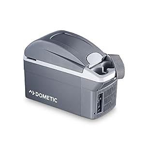 Dometic BordBar TB 08  -  thermoelektrische Kühlbox, 8 Liter, anschlussfertig für den PKW, 12-Volt, Kühlen und Heiz-Funktion, tragbarer Mini-Kühlschrank