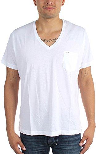 Diesel - Männer T-Saturno T-Shirt Bright White