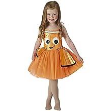Hasbro-Buscando a Nemo - Disfraz Nemo Tutu Classic, talla M (RUBIS SPAIN, S.L. 620784-M)