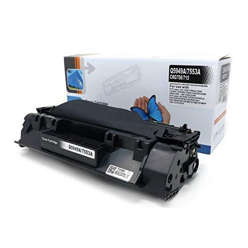 Starlet24 1x Toner (ersetzt Q5949A (49A)/Q7553A (53A)) für HP Laserjet 1160-3392 P2014-2015 (Toner 49x)