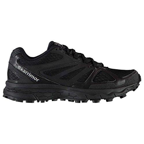 Official Shoes Karrimor Tempo 5Trail Chaussures de course à pied pour femme Noir Run Jogging Baskets Sneakers