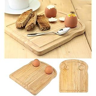 Apollo Housewares 7359 Apollo RB Breakfast Board Toast, Plastic