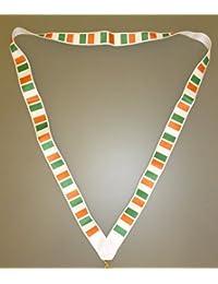 44cm lanière avec le drapeau irlandais - Drapeau de l'Irlande - souvenirs irlandais ( MI3 ) [Jouet ]