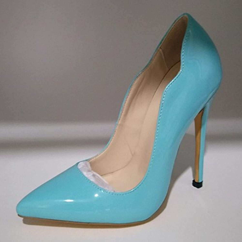 VIVIOO Prom Sandals scarpe,Fashion scarpe,Fashion scarpe,Fashion Beautiful,nero (blu,rosa) Pu,A 11 Cm High Heel scarpe Pointed Toe Pumps. Dimensione... | Prezzo economico  | Maschio/Ragazze Scarpa  b96a0f