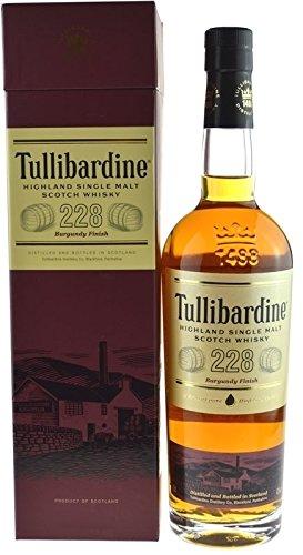 Tullibardine 228 Burgundy Finish 0,7l inklusive Geschenkpackung - Highland Single Malt Scotch Whisky (Burgundy Finish)