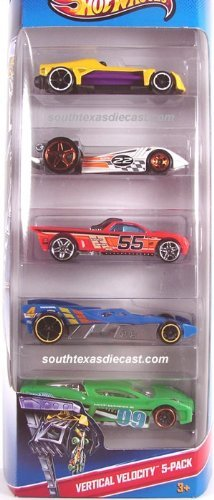 Hot Wheels, 2013 Vertical Velocity 5-Pack