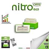 Módulo adicional para ahorro de combustible para coche a Gasolina, Nitro Eco, modelo OBD2,Chip Tuning universal