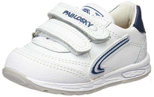Pablosky 265602, Zapatillas de Deporte para Niños, (Blanco), 21 EU