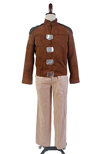 Battlestar Galactica 1981 Galactica Uniform Cosplay Kostüm M