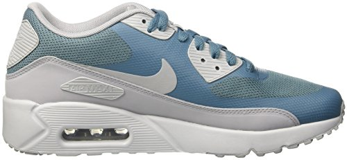 Nike Herren Air Max 90 Ultra 2.0 Essential Turnschuhe Blau (Smokey Blue/wolf Grey/pure Platinum)