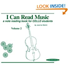 I Can Read Music, Volume 2: A note reading book for CELLO students