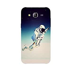 Back cover for Samsung Galaxy E7 Flying Astronut
