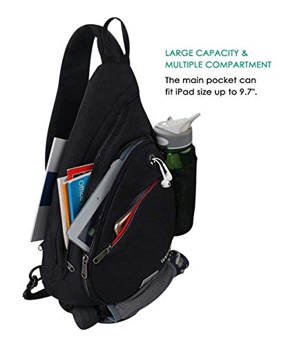 Zoom IMG-3 waterfly zaino monospalla portatile sportivo
