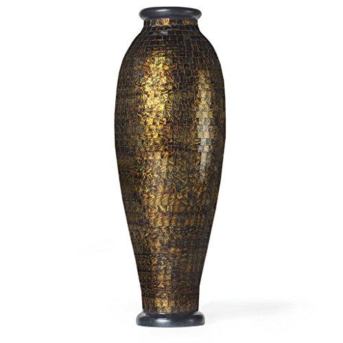 PoliVaz Rainforest Mosaic Urn Decorative Vase