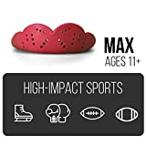 SISU Mouth Guards Max 2.4mm Custom Fit Sports Mouth Guard for Youth/Adults, NextGen