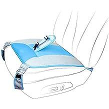 GJ Cinturón Ajustable con Cojín para Asiento de Automóvil para las Mujeres Embarazadas(Azul)