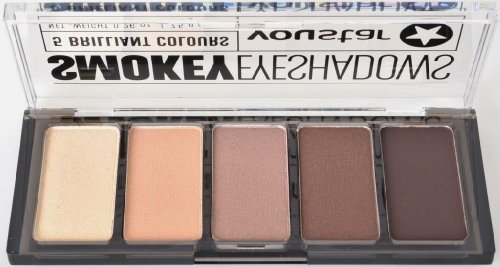 youstar Smokey Eyeshadow Palette - BROWN, 5 Lidschatten, 5 teilig, Trendlook Smokey Eyes