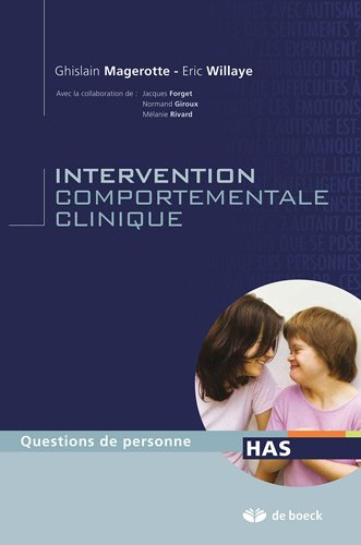 L'intervention comportementale clinique