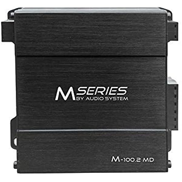 Audio System M 100 2 Md M Series 2 Kanal Mikro Digital Endstufe Amplifier 300 Watt Rms