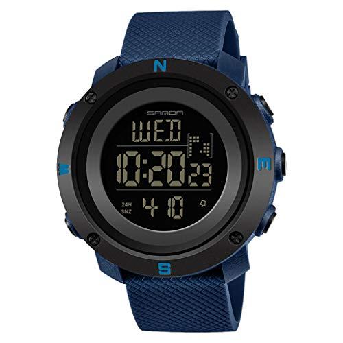 XZDCDJ Digitale Uhren Herren Sportuhr wasserdichte Armbanduhr Mode Trend Sportuhr Jugend Digital Paar Uhr Frauen H - Zeigen Jugend-socken