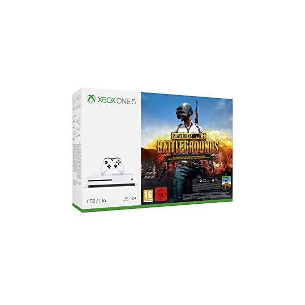 Console Videogames Microsoft Xbox One S 1 TB + Sea of Thieves 41PSiiVxKqL