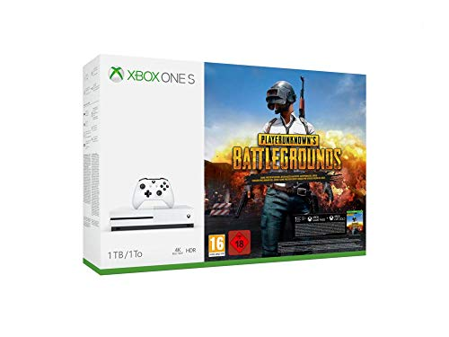 Xbox One S 1TB + Playerunknown's Battlegrounds [Bundle]