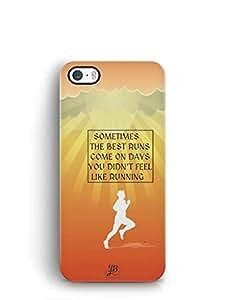 YuBingo Best Runs Mobile Case Back Cover for Apple iPhone 5