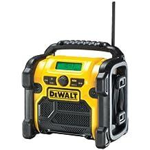 DeWalt DCR020-QW - Radio para obras DAB+, batería/cable
