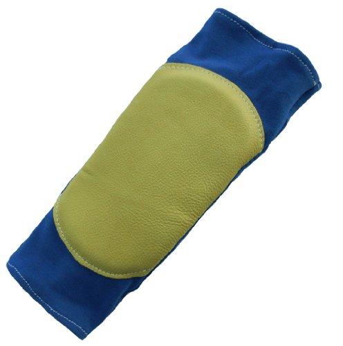 Impacto 804-20 Ellbogenschoner, Memory-Schaum, Größe L, Blau/goldfarben