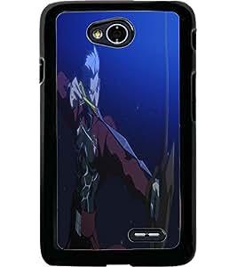 ColourCraft The Warrior Design Back Case Cover for LG L70