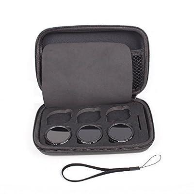 BlueBeach® 6 Slots Camera Lens Filter Bag Storage Case Box for DJI Phantom 3 Phantom 4 Quadcopter