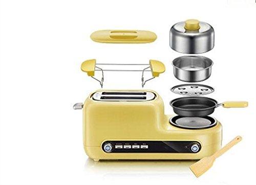 Große Elektro-röster (Happybeauty Toaster Set, Multifunktions Toaster 1000W, erhellt Ihre Küche mit extra breiten Slots und benutzerdefinierten Toasting Einstellungen)
