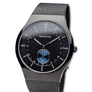 BERING Reloj Analógico para Hombre de Cuarzo con Correa en Acero Inoxidable 11940-228 de BERING