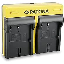 PATONA Dual Cargador Canon BP-511 con micro USB
