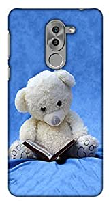 Blutec Teddy Reading A Book Design 3D Printed Hard Back Case Cover for Huawei Honor 6x