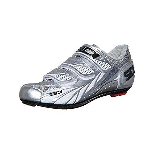 Sidi Moon da donna per bici da corsa scarpe donna scarpe grosse selezione, steel/silver, 39 steel/silver