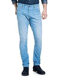 Salsa - Jeans Slender au lavage léger - Homme