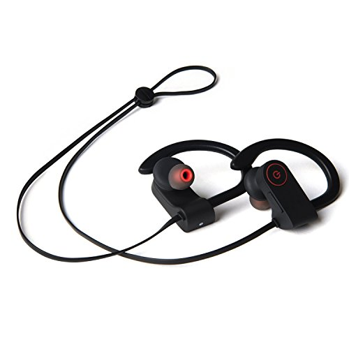 Coio Sports Bluetooth Headphone,Wireless Headphones HiFi Stereo Headset Sweatproof Earbud Noise