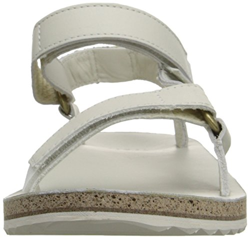 Teva Damen W Original Universal Crafted Leather Sandalen White