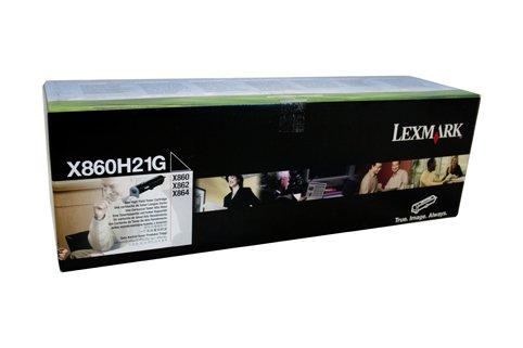 Lexmark X860H21G - X860E /862E /864E HY TONER CART (Cart Toner Lexmark Schwarz)