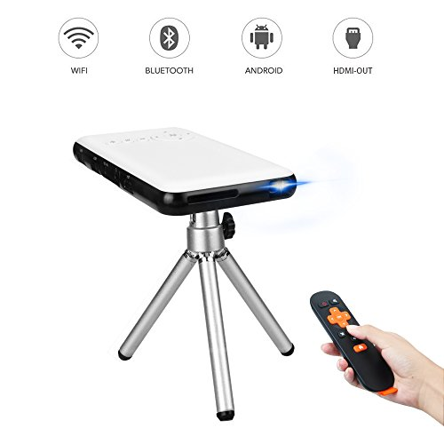 Mini Projecteur, OTHA Pico Projecteur Portable DLP...