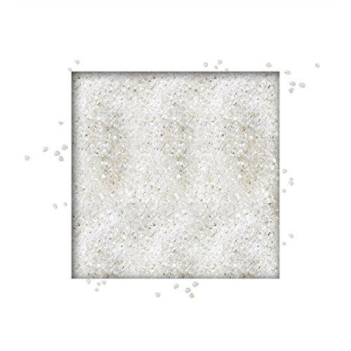 Dekorative Glas Edelsteine Klar (5 kg Glaskies 3/6 mm verschiedene Farben direkt vom KiesKönig® Klar)