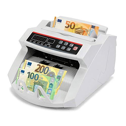 Conta banconote con rilevatore di soldi falsi contabanconote euro professionale