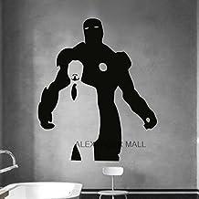 Pegatinas pared decoración mural adhesivo vinilo adhesivo carteles antiguos para el hogar ironman kidsroom mural comillas