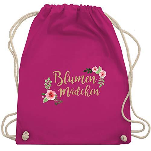 Hochzeit - Blumenmädchen retro - Unisize - Fuchsia - WM110 - Turnbeutel & Gym Bag