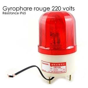 Gyrophare rouge 12v, Gyrophare alarme