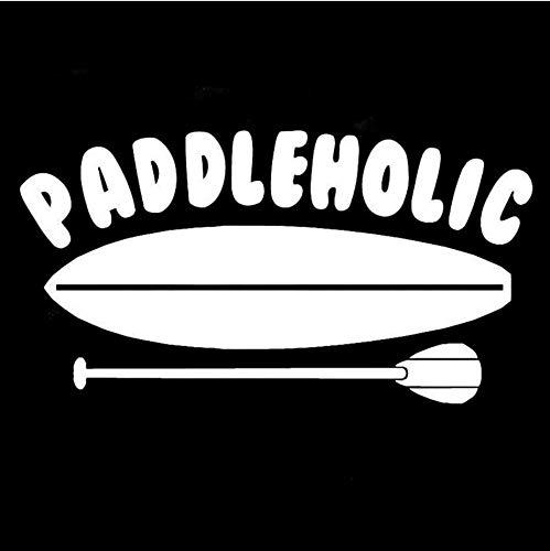 Cm Aufstehen Paddle Boarding Sup Auto Vinyl Auto Aufkleber Auto Aufkleber Styling Und Zubehör Schwarz Weiß-3St ()